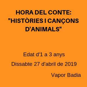 Històries i cançons d'animals