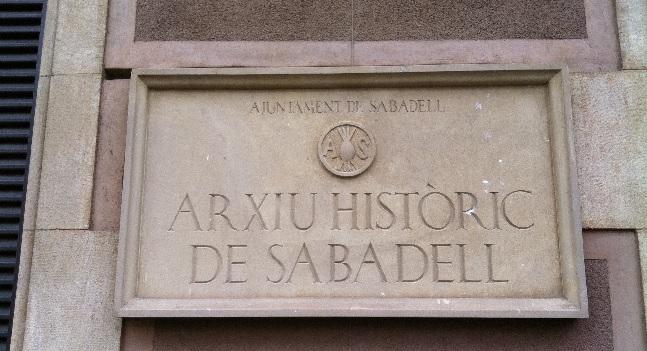 ARXIU HISTÒRIC SABADELL