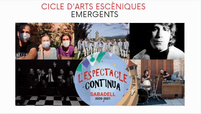 CICLE D'ARTS ESCÈNIQUES EMERGENTS 2021