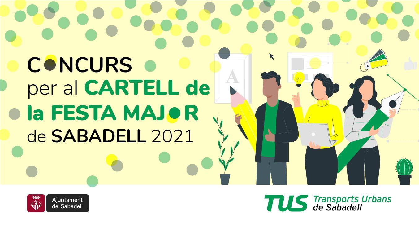 CONCURS CARTELL FESTA MAJOR SABADELL 2021