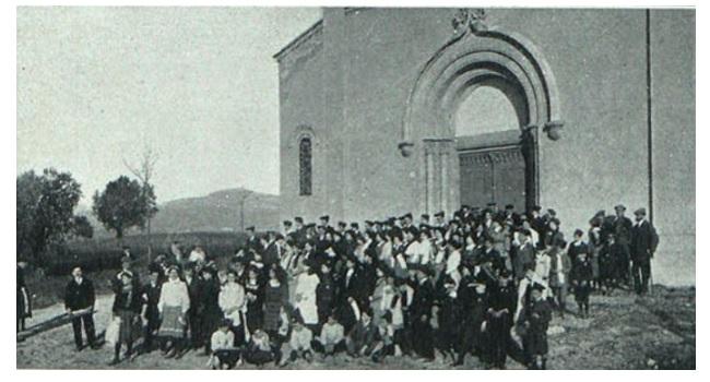 L'APLEC DE LA SALUT DE 1910 ES VA AJORNAR