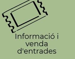Informació i venda d'entrades