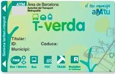 Targeta T-verda ATMU