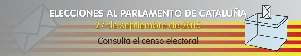 Elecciones Autonómiques 2015