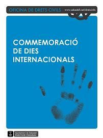 Commemoració de Dies Internacionals
